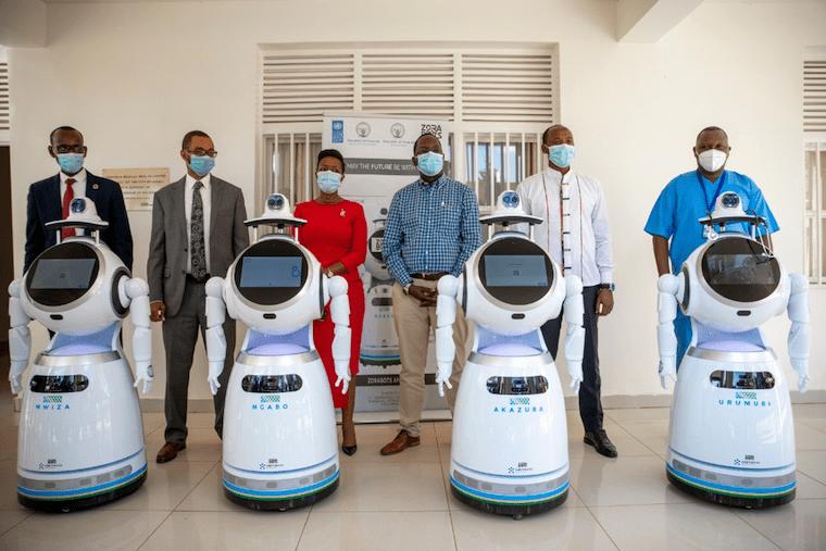 Rwanda uses robots in corona-virus fight